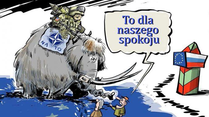 """NATO """"świetnie"""" bawi się w matraszka"""