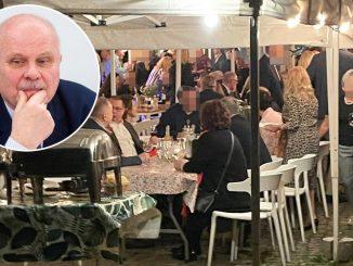 Nie tylko PO i PiS! Politycy Lewicy też bawili się na urodzinach Mazurka, zamiast w tym czasie być w pracy! Jeden zachowywał się tajemniczo