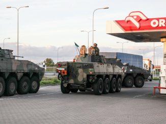 Rosomaki zatankowały na Orlenie i gdzie pojechały